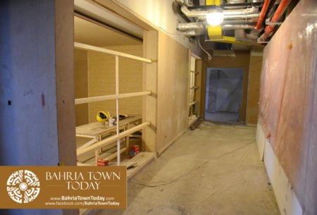 Interior Work in Progress at Bahria Town Icon Karachi (Office Tower) (3)