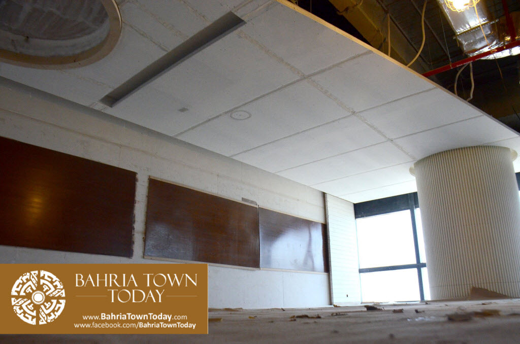 Interior Work in Progress at Bahria Town Icon Karachi (Office Tower) (5)