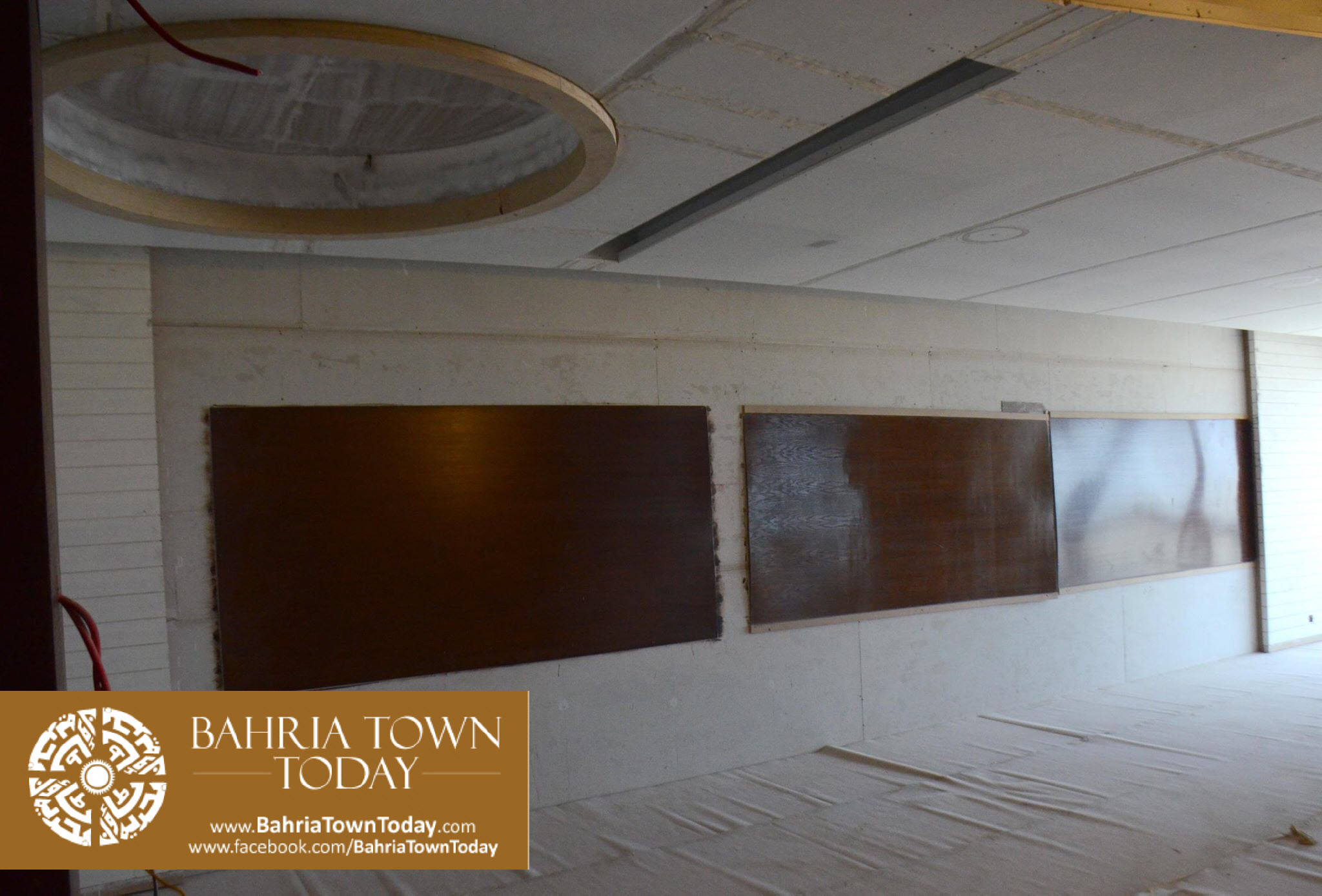 Interior Work in Progress at Bahria Town Icon Karachi (Office Tower) (6)
