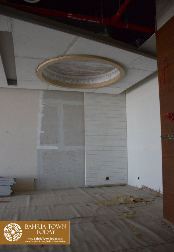 Interior Work in Progress at Bahria Town Icon Karachi (Office Tower) (7)