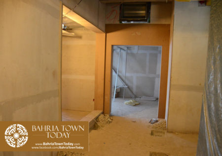 Interior Work in Progress at Bahria Town Icon Karachi (Office Tower) (9)