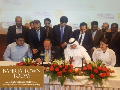 Bahria Town & Bait Al Batterjee Medical Company Sign Historical Collaboration Agreement
