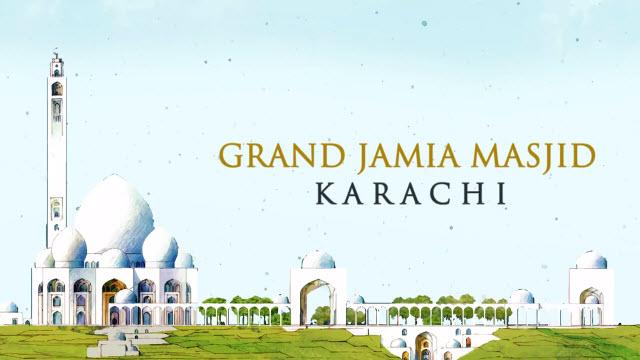 Bahria Town Grand Jamia Masjid Karachi