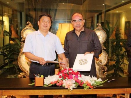 Bahria Town and China Railway 20 Bureau Group Corporation (CR20G) Inked Bus Rapid Transport Karachi Project