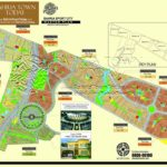 Bahria Sports City Karachi – High Resolution Master Plan with Plot Numbers