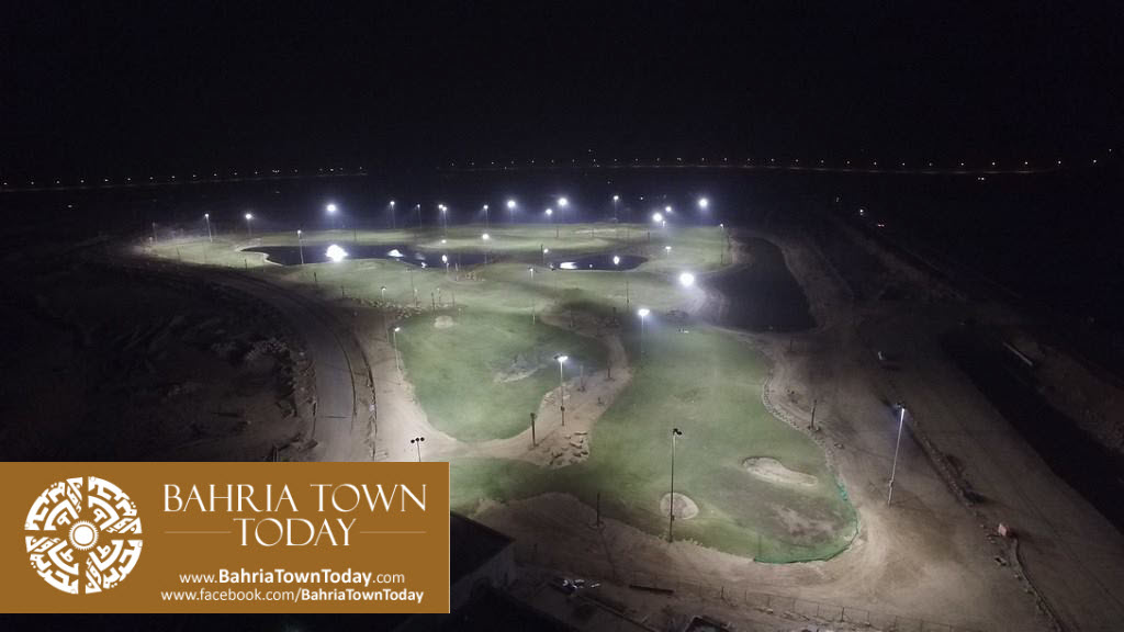 's First Ever 36 Hole PGA Standard Night Lit Golfing Facility in Bahria Golf City Karachi (1)