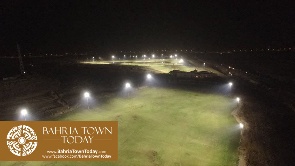 's First Ever 36 Hole PGA Standard Night Lit Golfing Facility in Bahria Golf City Karachi (3)