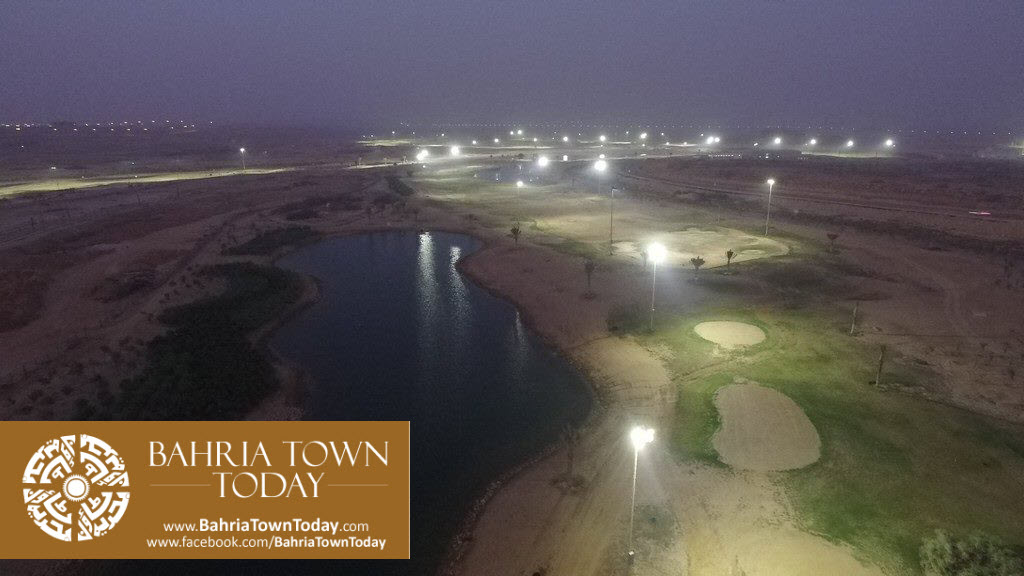 's First Ever 36 Hole PGA Standard Night Lit Golfing Facility in Bahria Golf City Karachi (4)