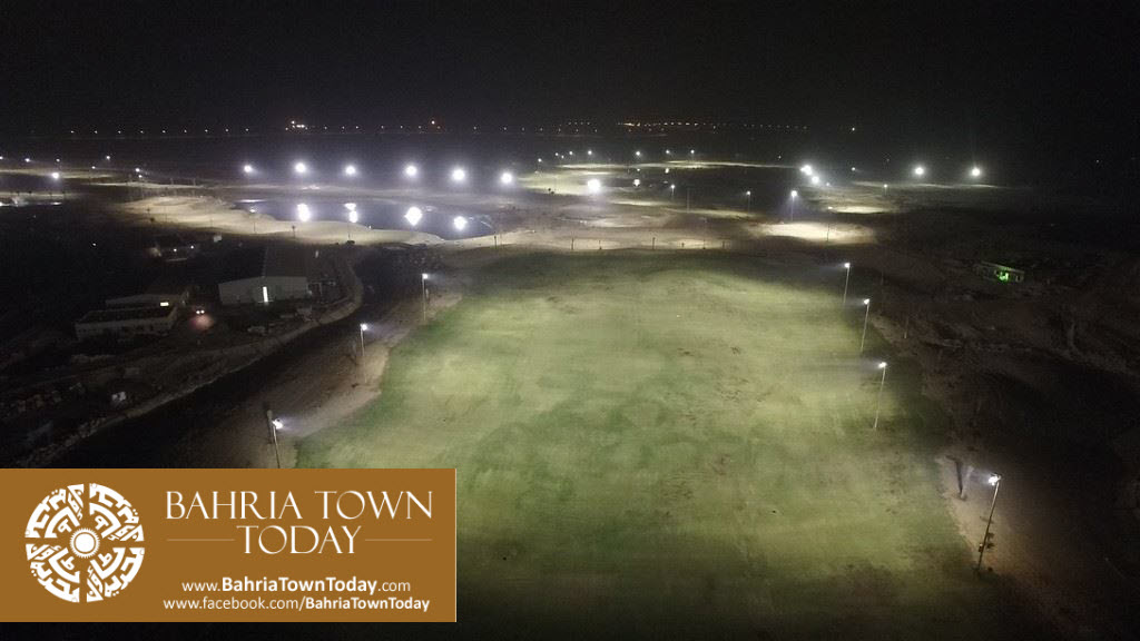 's First Ever 36 Hole PGA Standard Night Lit Golfing Facility in Bahria Golf City Karachi (5)