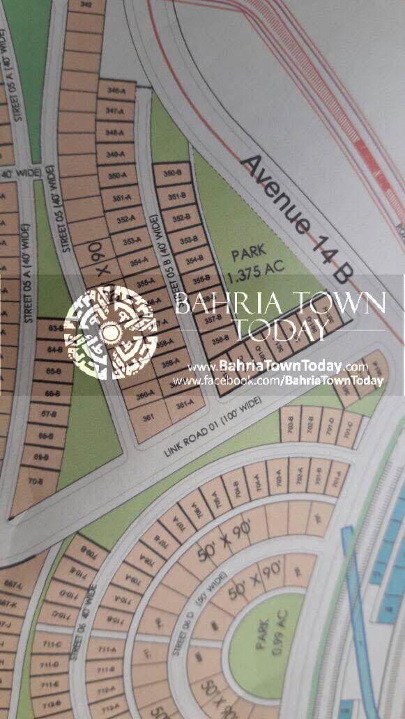 Bahria Town Karachi – Bahria Hills Master Plan Map (2)