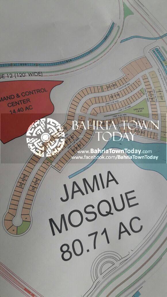 Bahria Town Karachi – Bahria Hills Master Plan Map (4)