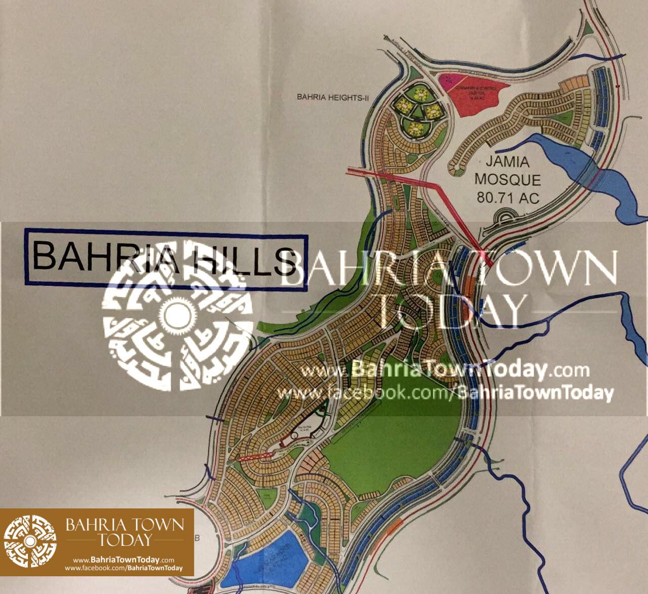 Bahria Town Karachi – Bahria Hills Master Plan Map