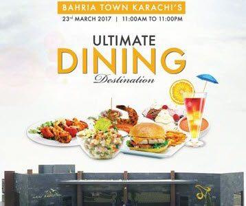 New Horizon Restaurant Opening in Bahria Town Karachi