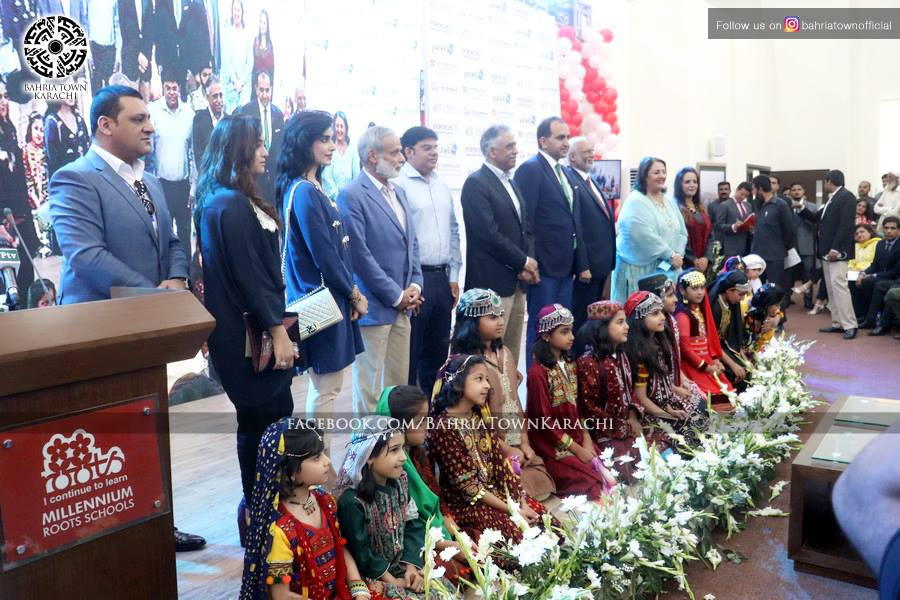 Governor Sindh Inaugurates Roots Millennium School Campus in Bahria Town Karachi (7)