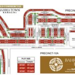 Bahria Town Karachi – Precinct 10A (Old Commercial) Map
