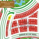 Bahria Town Karachi – Precinct 18 (Theme Park Commercial) Map