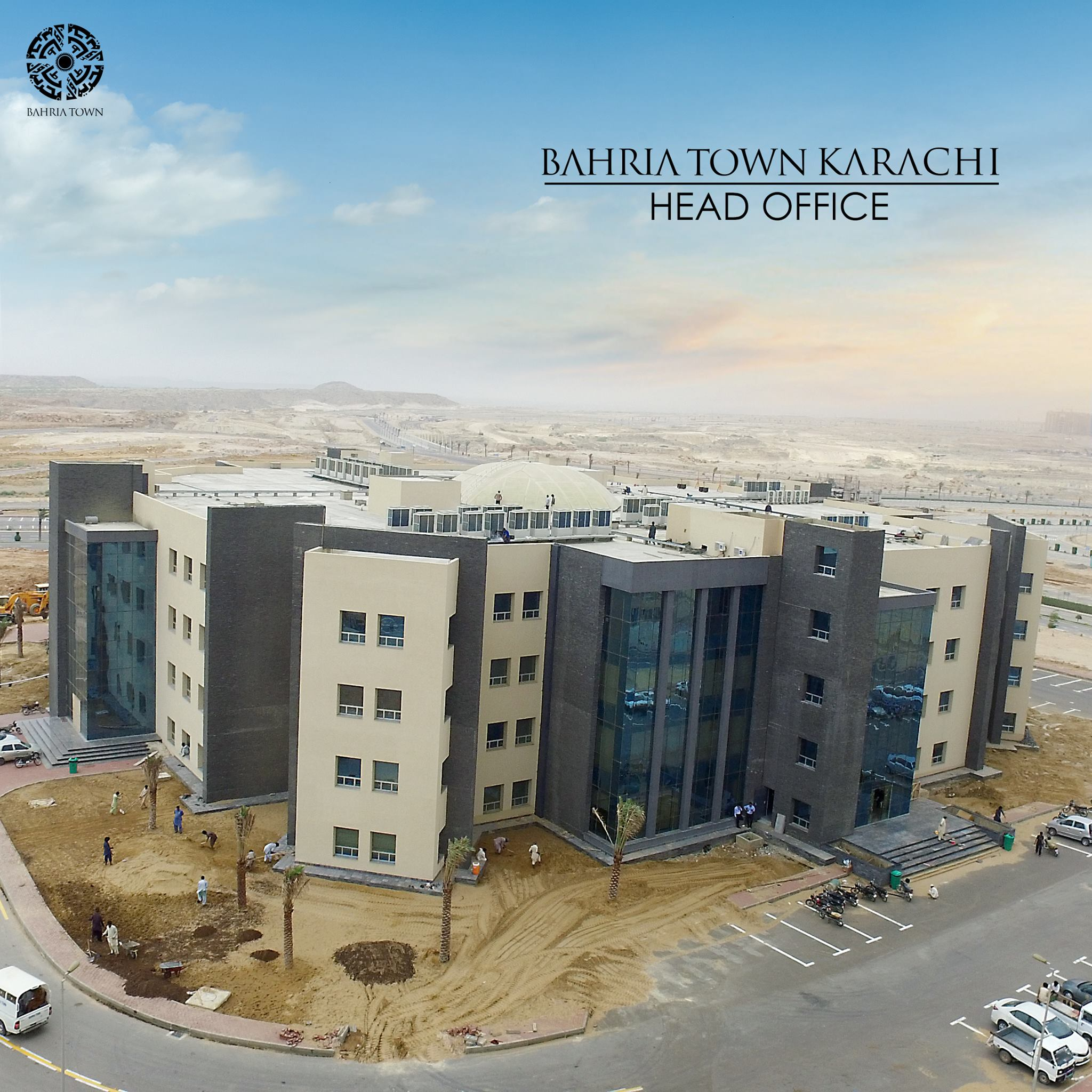 Bahria Town Karachi Head Office – Midway Commercial1