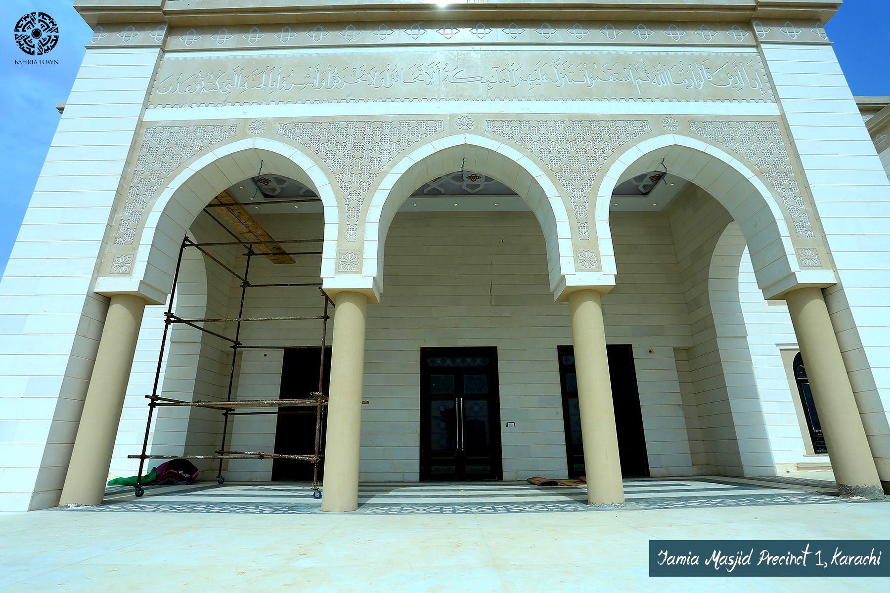 Jamia Masjid – Precinct 1 Bahria Town Karachi3