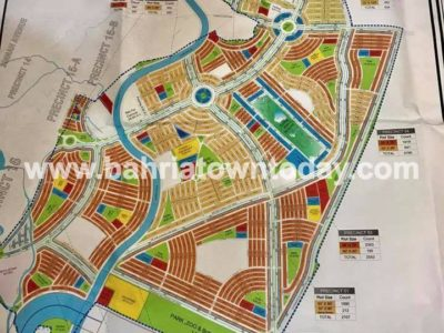 Bahria Paradise Karachi – Master Plan Map