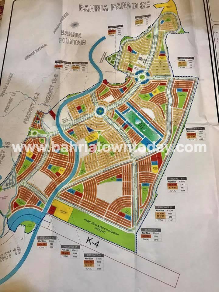 Bahria Paradise Karachi – Master Plan