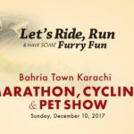 Bahria Town Marathon, Cycling & Pet Show on Sunday, December 10, 2017