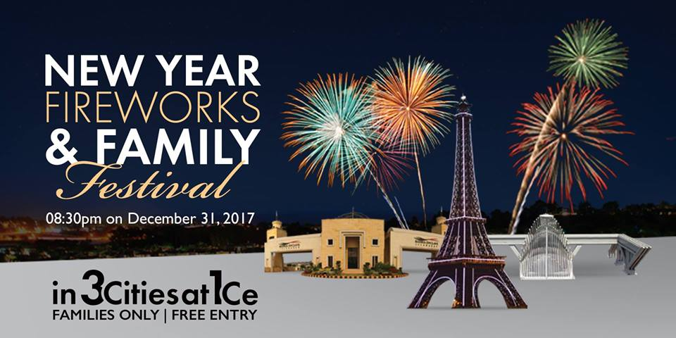 Bahria Town Epic New Year Fireworks 2018