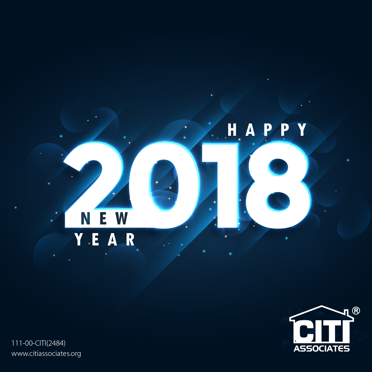 Happy New Year 2018 From CITI Associates