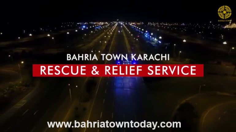 Bahria Town Karachi Rescue and Relief Service