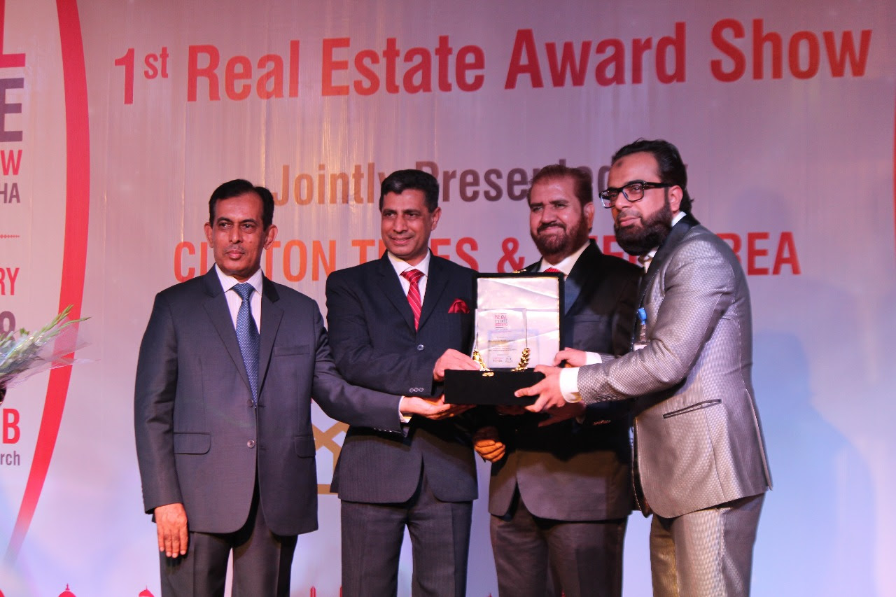 ' at 1st Real Estate Award Show 2018