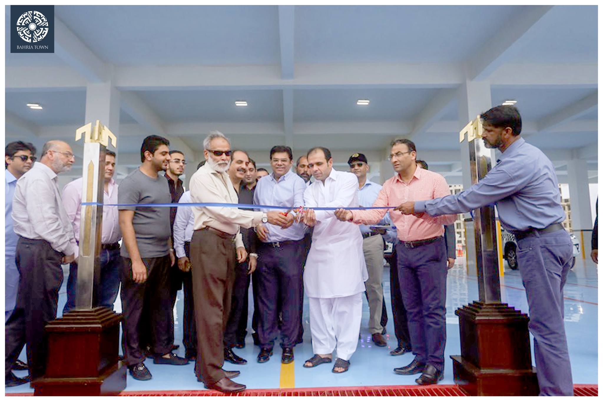 Bahria Town Karachi Inaugurates International Standard Bahria Fire Station (5)