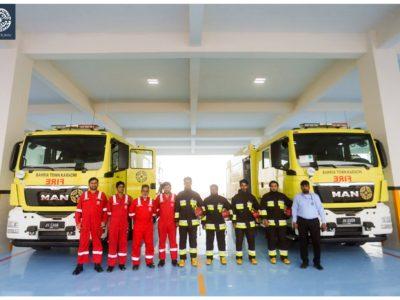 Bahria Town Karachi Inaugurates International Standard Bahria Fire Station