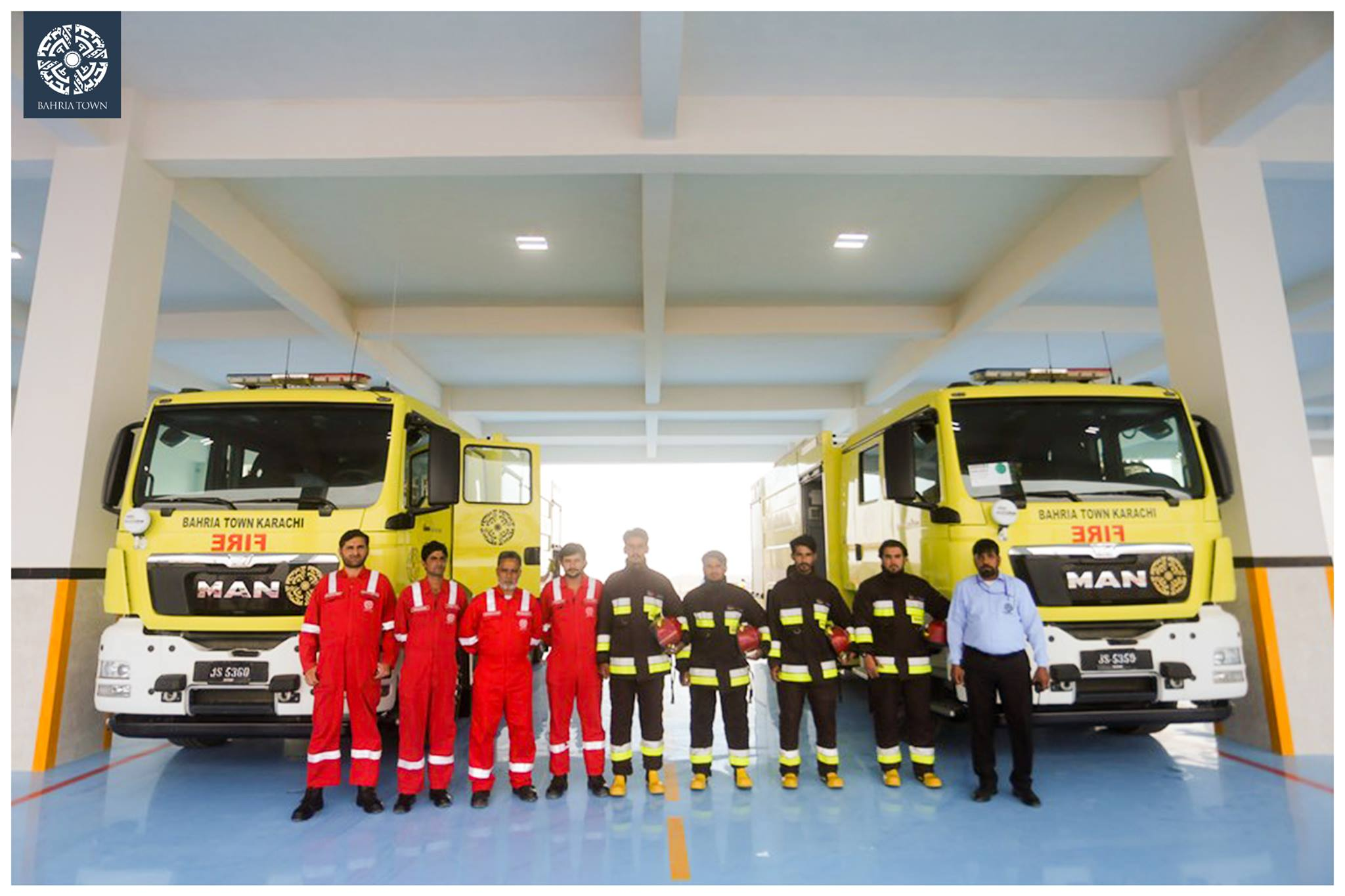 Bahria Town Karachi Inaugurates International Standard Bahria Fire Station (6)