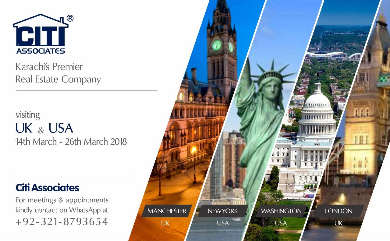 CITI Associates Team Visiting UK & USA – 14th to 26th March 2018