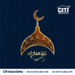 Heartiest Eid Mubarak 2018 from 'CITI Associates'