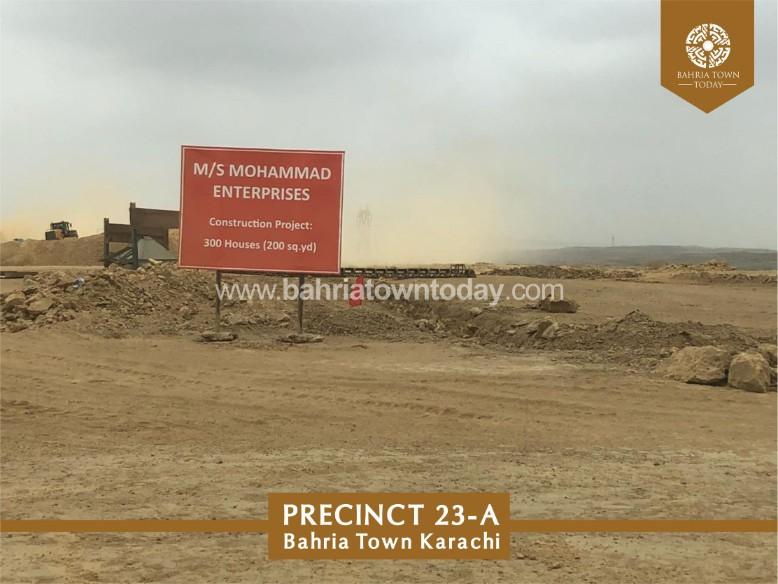 Bahria Town Karachi Latest Progress Update (Precinct 23A) – September 2018 (1)