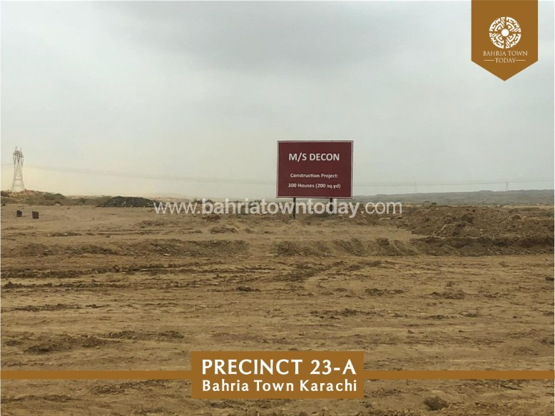 Bahria Town Karachi Latest Progress Update (Precinct 23A) – September 2018 (9)