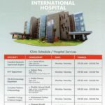 Bahria Town Karachi International Hospital – Clinics Schedule & Timings