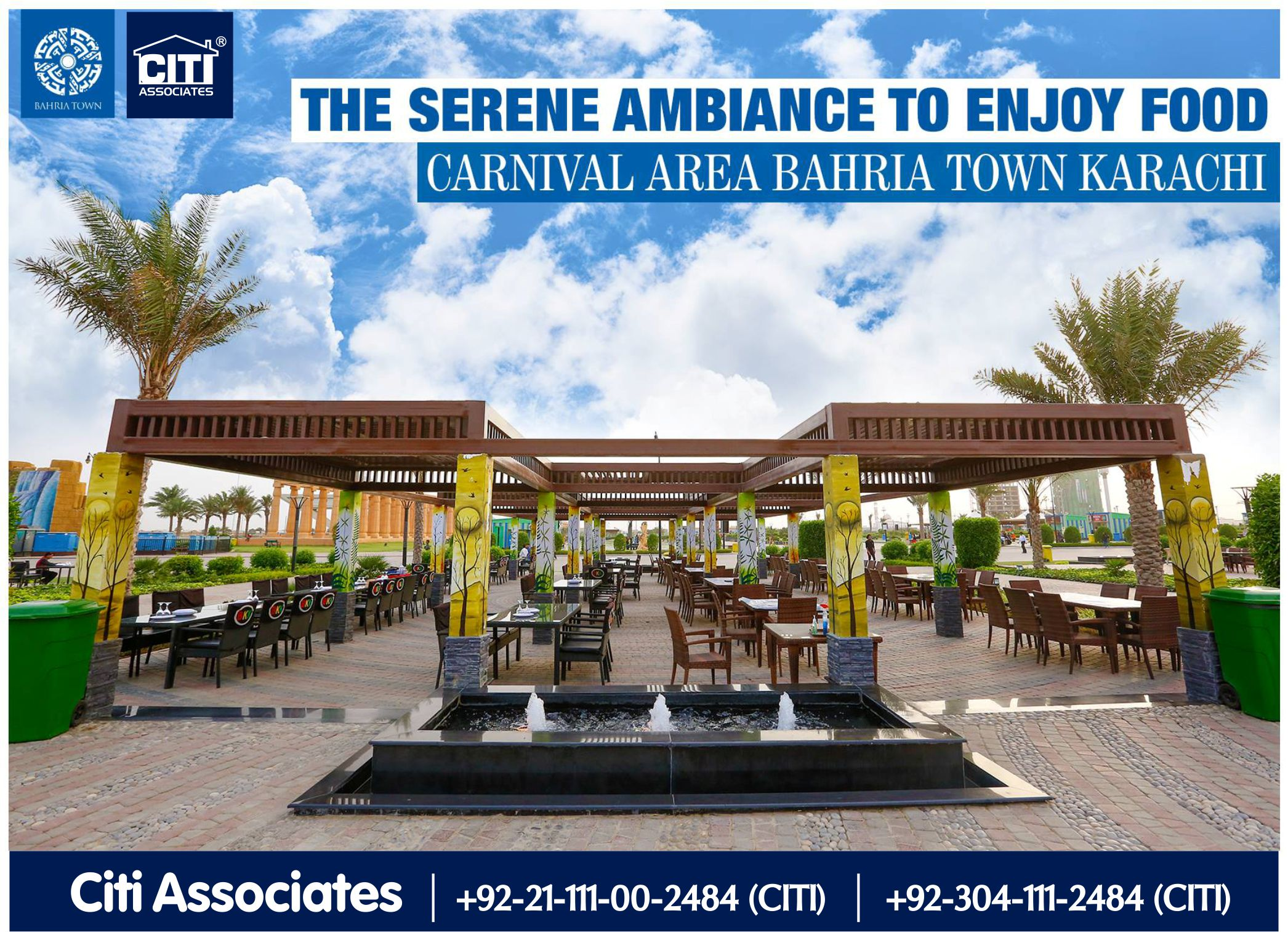 Enjoy Food at Carnival Area -Bahria Town Karachi