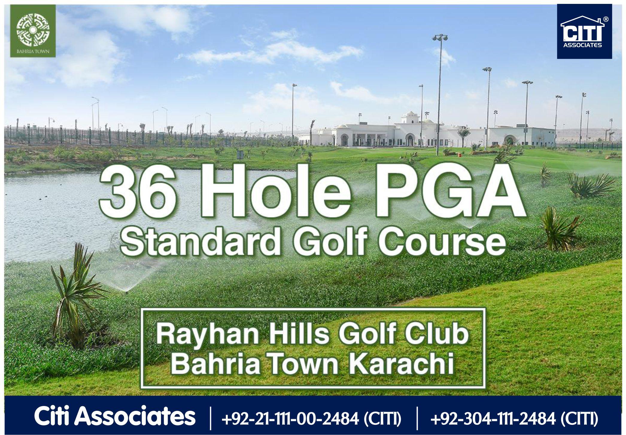 Rayhan Hills | Golf Club | Bahria Town Karachi