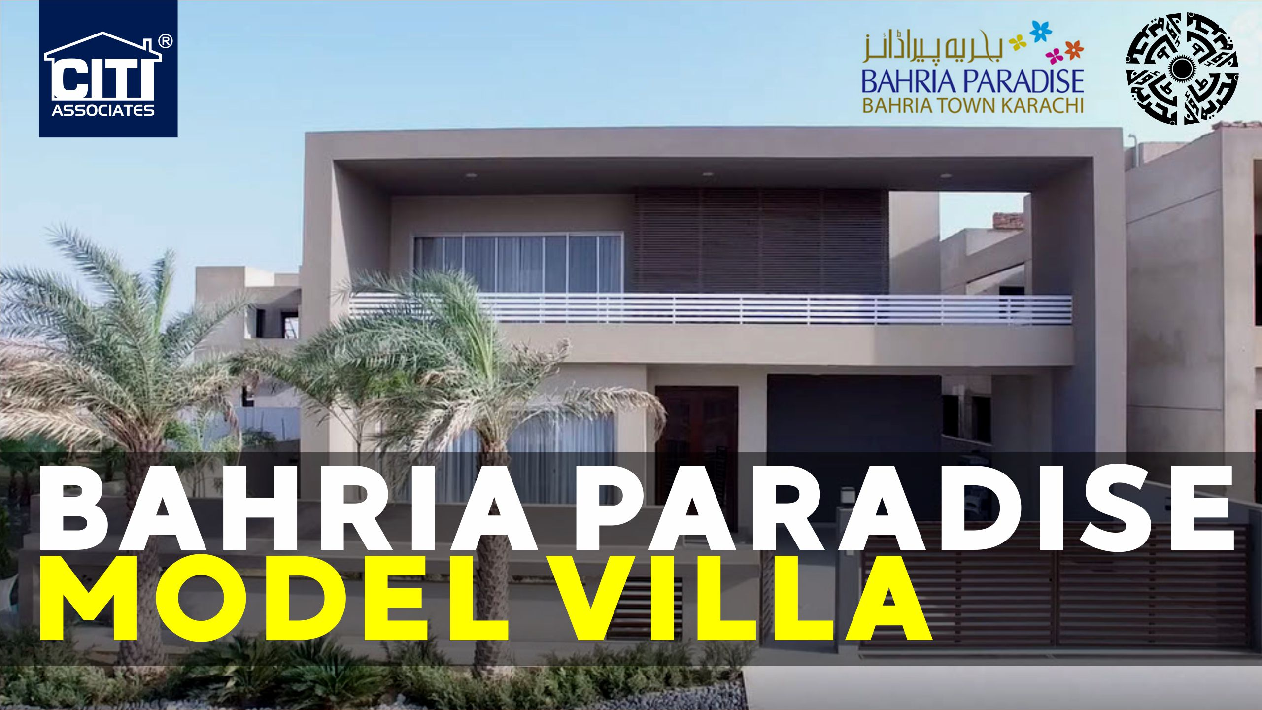 [Video] 500 Sq Yds Luxury Model Villa in Bahria Paradise Karachi