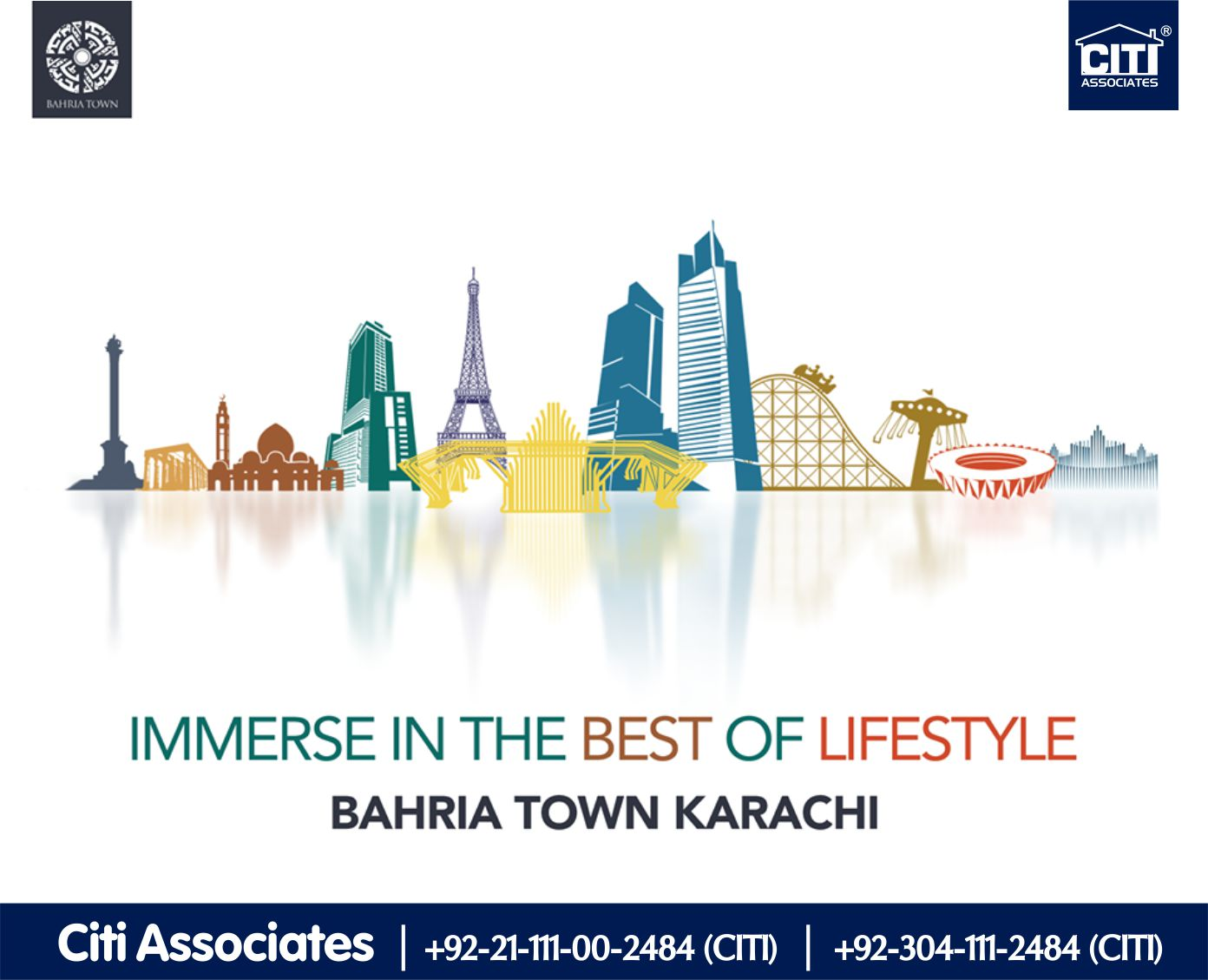 Immerse in the Best of Lifestyle! Bahria Town Karachi