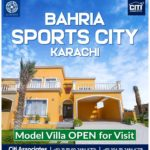 Bahria Sports City Karachi  | Villas are Ready for Possession!