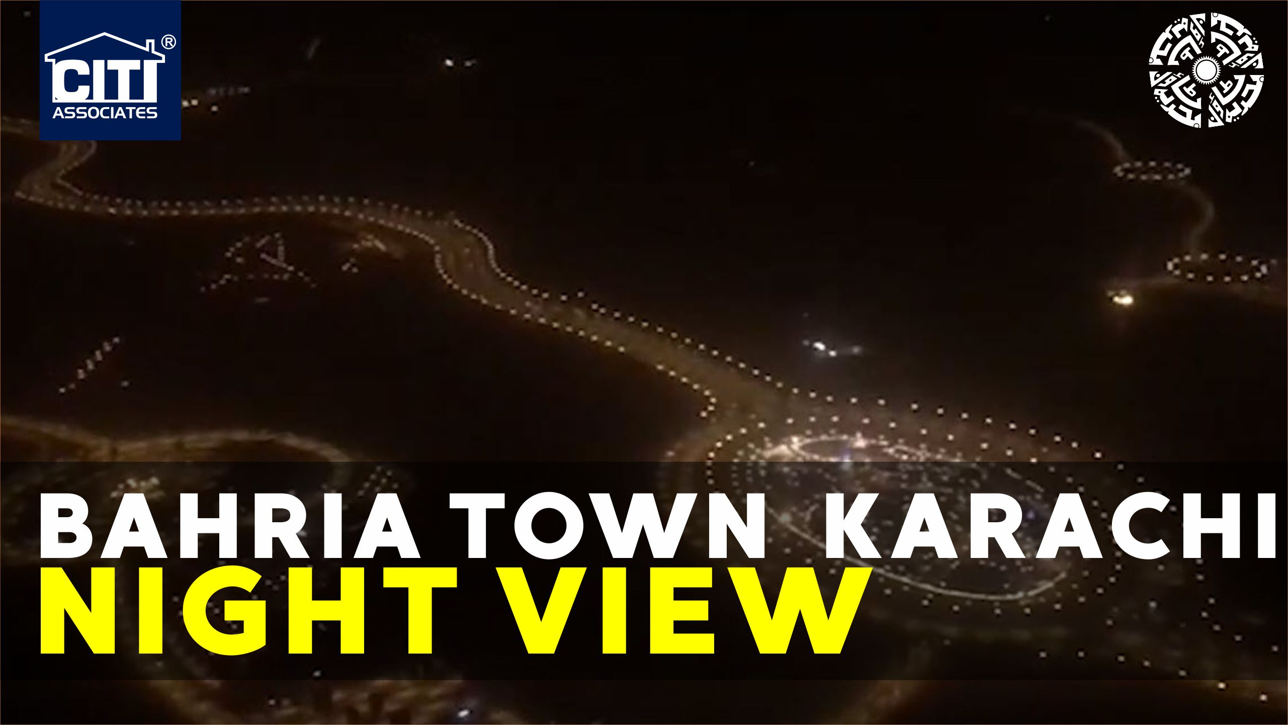 Bahria Town Karachi | Night View