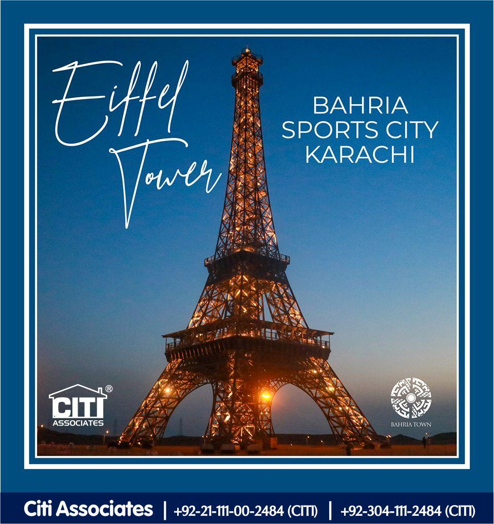 Eiffel Tower   Bahria Sports City Karachi!