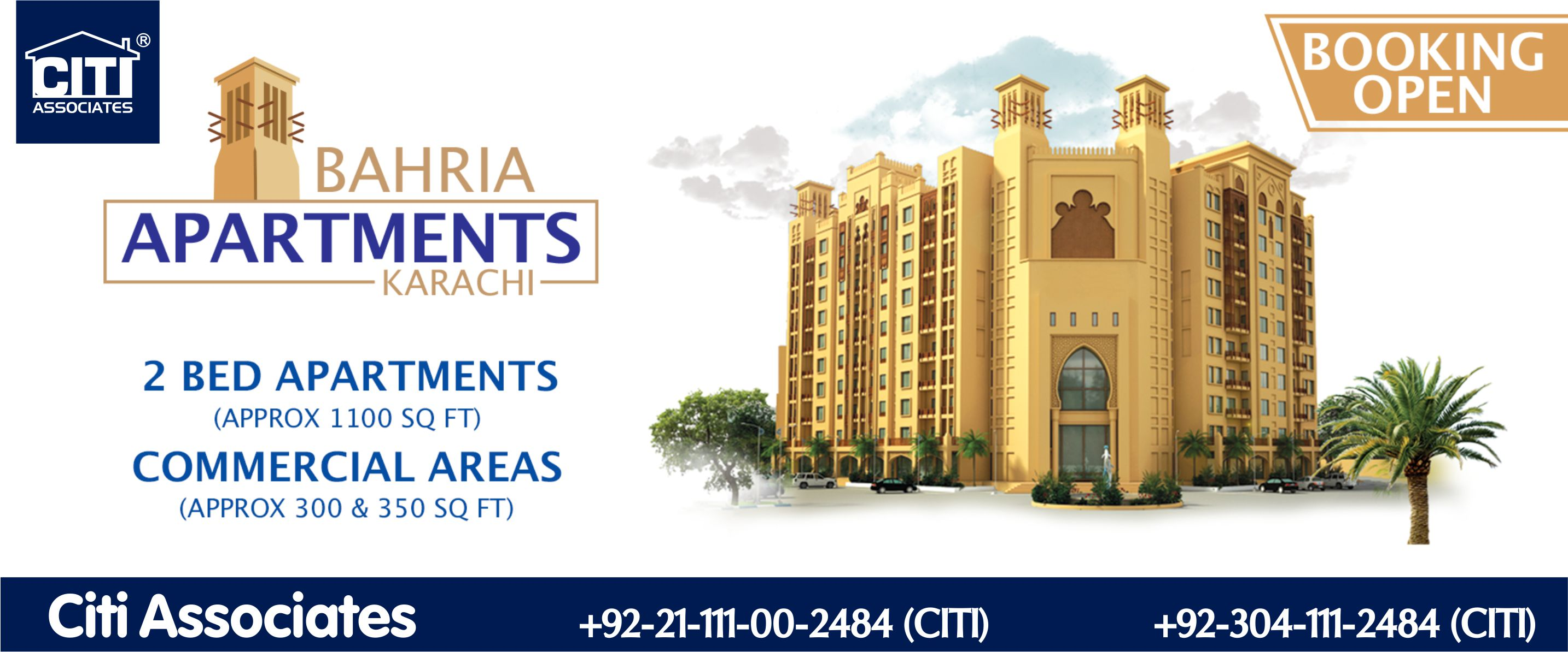 Booking's Open | Bahria Apartments Karachi
