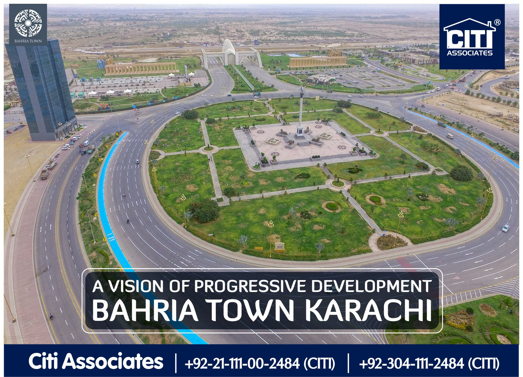 A Vision of Progressive Development | Bahria Town Karachi