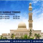 Eid-ul-Fitr Namaz Timing in Bahria Town Karachi 2019