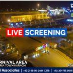 Live Screening   Carnival Area   Bahria Town Karachi