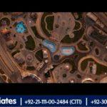 An Impressive Aerial View of Bahria Adventure Land | Karachi