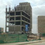 Fourth Floor Columns | Shuttering and Pouring | Jakvani Midway Tower